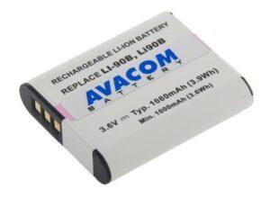 Avacom Olympus LI-90B, LI-92B Li-Ion 3.7V 1080mAh 3.9Wh (DIOL-LI90-836N2)