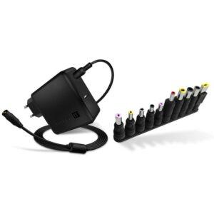 Connect IT NomadPower univerzální pro notebooky 65 W + extra USB port (CNP-1650-BK)