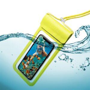 """Celly Splash Bag voděodolné na 6,5"""" žluté (SPLASHBAG19YL)"""