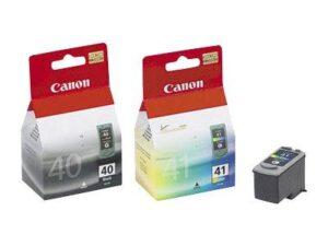 Canon PG40/CL-41 , 16,9ml  - originální černá/červená/modrá/žlutá (0615B036)
