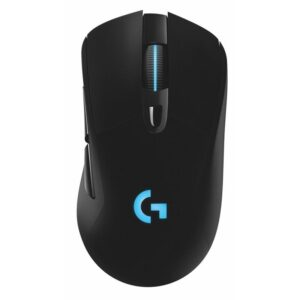 Logitech Gaming G703 Lightspeed Wireless, HERO16K sensor černá (910-005640)