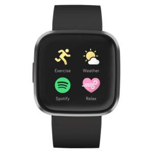 Fitbit Versa 2 (NFC) - Black/Carbon (FB507BKBK)