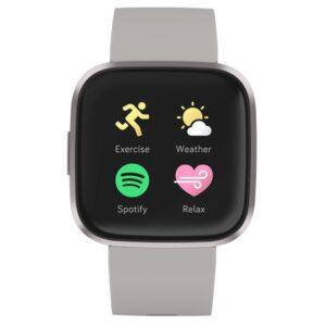 Fitbit Versa 2 (NFC) - Stone/Mist Grey (FB507GYSR)