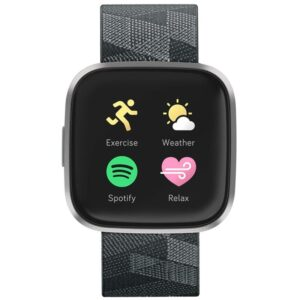 Fitbit Versa 2 Special Edition (NFC) - Smoke Woven (FB507GYGY)