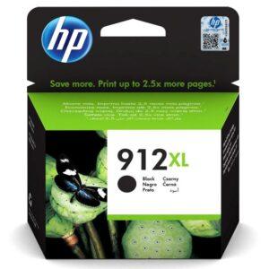 HP 912XL, 825 stran černá (3YL84AE)