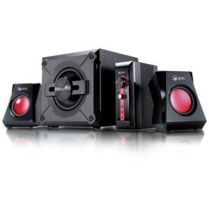 Genius GX Gaming SW-G 2.1 1250, Verze II. černé/červené (31730019400)