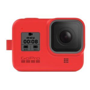 GoPro Sleeve + Lanyard (HERO8 Black) - červený (AJSST-008)