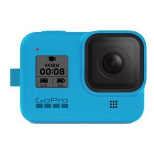 GoPro Sleeve + Lanyard (HERO8 Black) - modrý (AJSST-003)