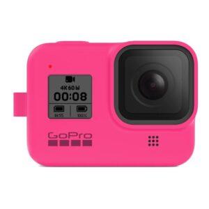 GoPro Sleeve + Lanyard (HERO8 Black) - růžový (AJSST-007)