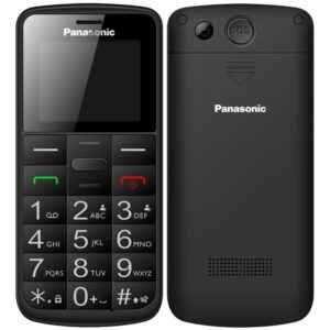 Panasonic KX-TU110EXB Dual SIM černý (KX-TU110EXB)