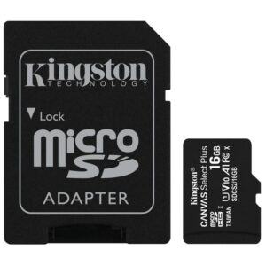 Kingston Canvas Select Plus MicroSDHC 16GB UHS-I U1 (100R/10W) + adapter (SDCS2/16GB)