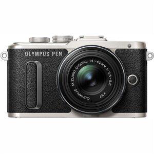 Olympus E-PL8 + 14-42 Kit černý/stříbrný (V205081BE000)