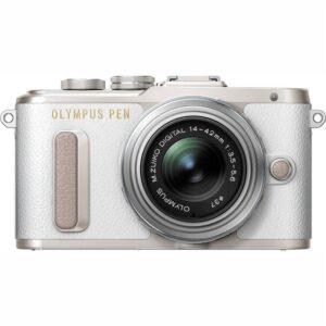 Olympus E-PL8 + 14-42 Kit stříbrný/bílý (V205081WE000)