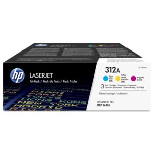 HP 312A, 3x 2700 stran, 3 pack, CMY (CF440AM)
