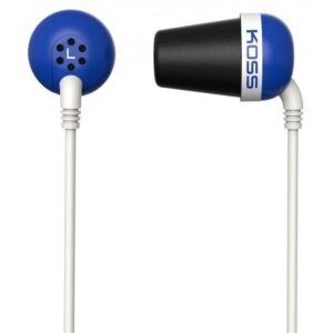 Koss The Plug (doživotní záruka) modrá