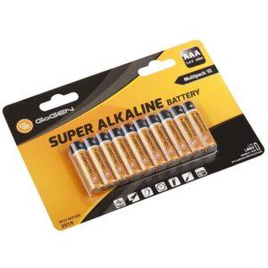 GoGEN SUPER ALKALINE AAA, LR03, blistr 10 ks (GOGR03ALKALINE10)