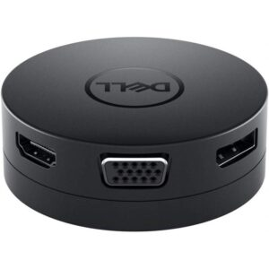 Dell USB-C/HDMI, VGA, DisplayPort, RJ45, USB černá (492-BCJL)