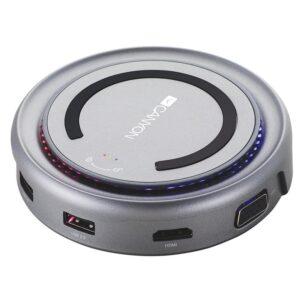Canyon USB/USB-C/HDMI/VGA/USB-C PD 100W šedá (CNS-TDS07DG)