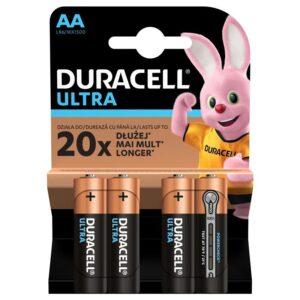 Duracell Ultra AA, LR06, blistr 4ks