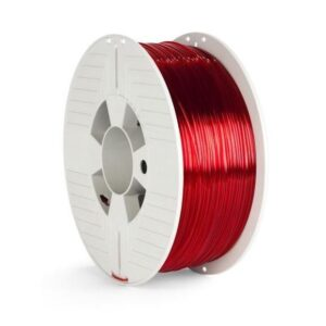 Verbatim PET-G 1,75 mm pro 3D tiskárnu, 1kg, transparentní červená (55054)