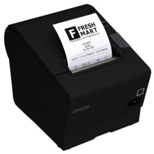 Epson TM-T88V černá pokladní, termální, RS232, USB, 300 mm/s (C31CA85033A0)
