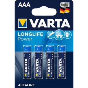 Varta Longlife Power AAA, LR03, blistr 4ks (4903121414)