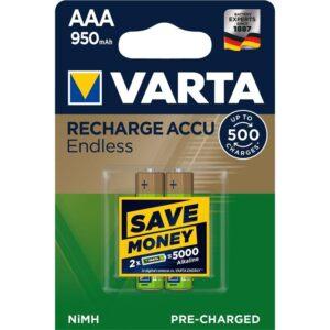 Varta Endless HR03, AAA, 950mAh, Ni-MH, blistr 2ks (56683101402)