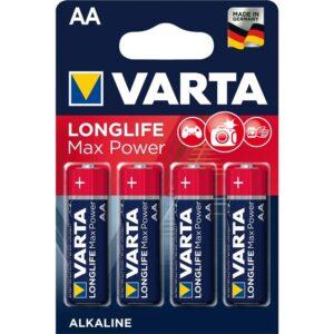 Varta Longlife Max Power AA, LR06, blistr 4ks (4706101404)