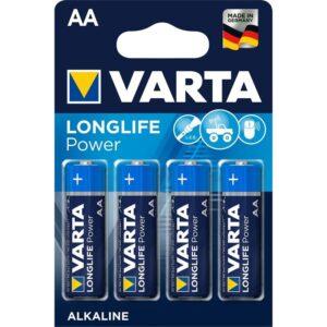 Varta Longlife Power AA, LR06, blistr 4ks (4906121414)