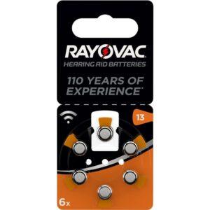 Varta Rayovac 13, blistr 6ks (4606945416)