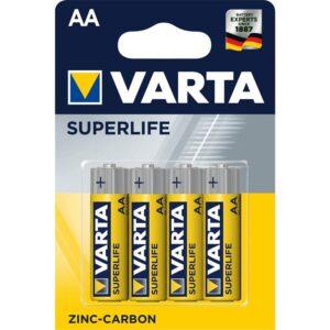 Varta Superlife AA, R06, blistr 4ks (2006101414)
