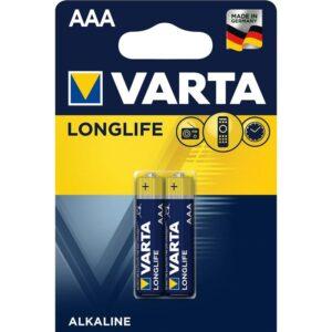 Varta Longlife AAA, LR03, blistr 2ks (4103101412)