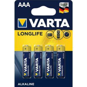 Varta Longlife AAA, LR03, blistr 4 ks (4103101414)