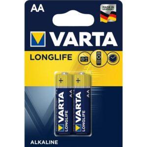 Varta Longlife AA, LR06, blistr 2ks (4106101412)