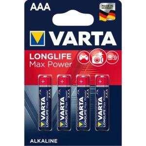 Varta Longlife Max Power AAA, LR03, blistr 4ks (4703101404)