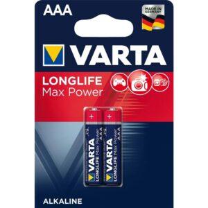 Varta Longlife Max Power AAA, LR03, blistr 2ks (4703101412)