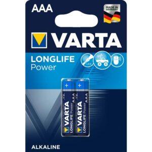Varta Longlife Power AAA, LR03, blistr 2ks (4903121412)
