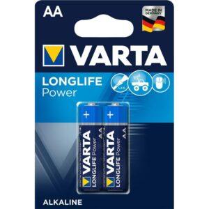Varta Longlife Power AA, LR06, blistr 2ks (4906121412)