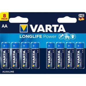 Varta Longlife Power AA, LR06, blistr 8ks (4906121418)