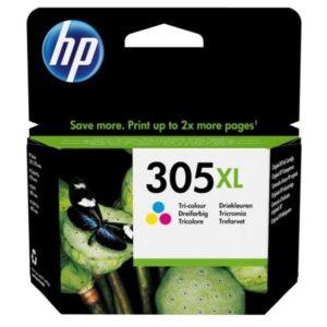 HP 305XL, 200 stran, CMY (3YM63AE)