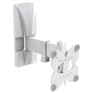 """Meliconi SlimStyle Plus 100 SR polohovatelný pro úhlopříčky 14"""" až 25"""", nosnost 20 kg bílý (480974)"""