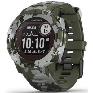 Garmin Instinct Solar Solar Camo Optic zelená (010-02293-06)