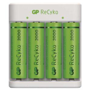 GP Eco E411 + 4× AA ReCyko 2000 (1604841110)
