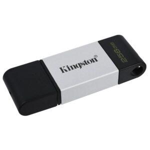 Kingston DataTraveler 80 256GB, USB-C černý/stříbrný (DT80/256GB)