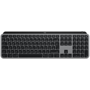 Logitech MX Keys for Mac, US šedá (920-009558)