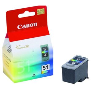 Canon CL-51C, 330 stran červená/modrá/žlutá (0618B001)