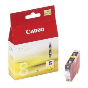 Canon CLI-8Y, 420 stran - originální žlutá (0623B006)