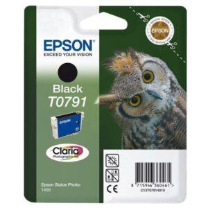 Epson T0791, 11ml - originální černá (C13T07914010)