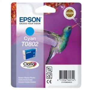 Epson T0802, 7,4ml  modrý (C13T08024021)