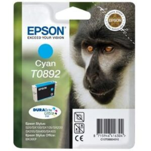 Epson T0892, 3,5ml  - originální modrá (C13T08924021)